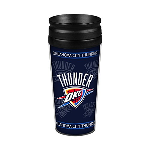 Oklahoma City Thunder 14oz. Full Wrap Travel (Champions Travel Tumbler)