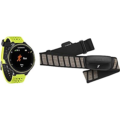 Garmin Forerunner 230 GPS Running Watch with Heart Rate Monitor - Purple Band Bundle
