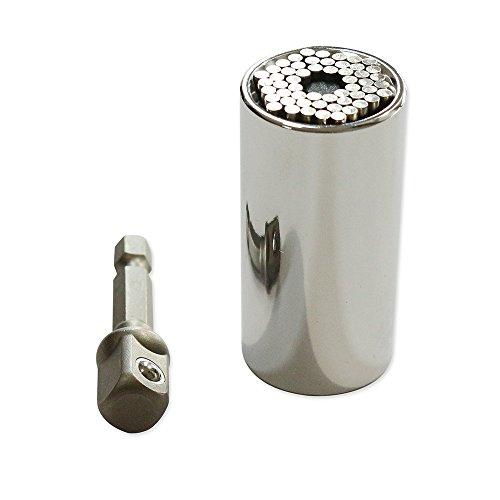 2 Piece Universal Socket Multi-Function A Hand Tool Set Repair Kit Locksmith Screwdriver Wrench Adapter Multitool Car