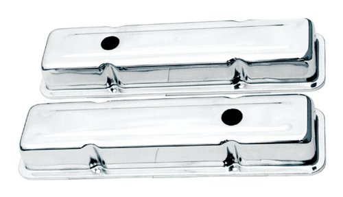 CSI 1001 Chrome Plated Stainless Steel Valve Cover - 2 (Monza Two Piece)