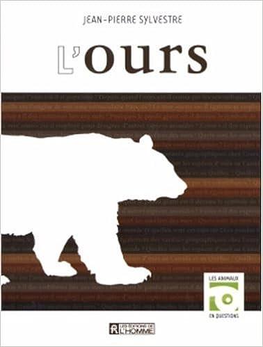 Télécharger en ligne L'ours pdf