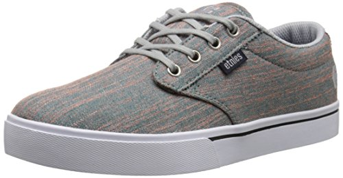 Etnies Womens Jameson 2 Canvas Low-Top Trainers Blue/Grey/White