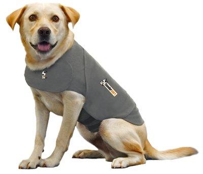 Thundershirt Grey Chest 9-13.5″, < 12 lbs, XX Small, My Pet Supplies