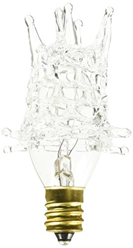 - Westinghouse Lighting 03747-7STAR - 7 Watt Star DecorLite Decorative Light Bulb, Clear