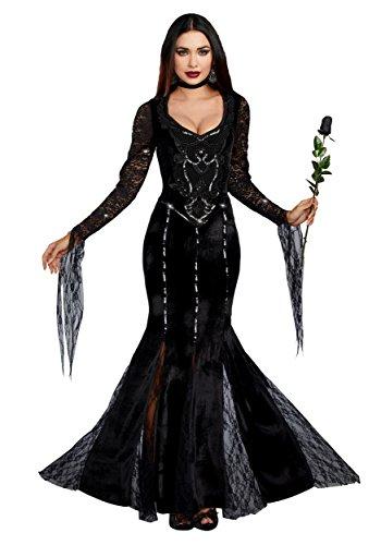 Dreamgirl Women's Frightfully Beautiful, Black, M