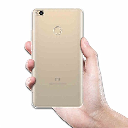 Silicone Soft Case for Xiaomi Mi Max (Clear) - 4