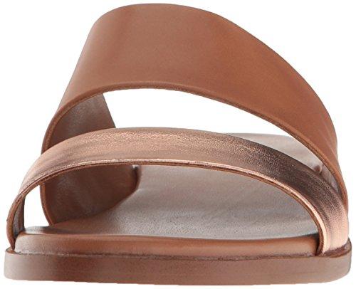 Cole Haan Kvinnor Anica Glid Sandal Ekollon / Steg Guld / Metallisk