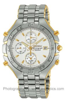 - Seiko Men's Alarm Chronograph watch #SDWG36