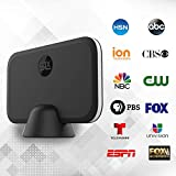 Digital Livewave TV Antenna for Indoor - HDTV Antenna with Amplifier Signal Booster for 4K HD Local Channels with Coaxial Cable Ultra High Definition TVs,Amplified 120 Mile Range Ultra 4K TV Antennas