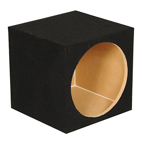 Q Power SOLO15 Solo Series MDF Wood Carpeted Single 15-Inch Unloaded Box (Subwoofer Active Series)