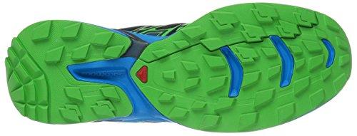 Salomon Wings Flyte 2, Zapatillas de Trail Running para Hombre Negro (Black/Cloisonné/Classic Green)