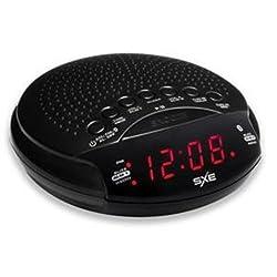 Westclox Bluetooth Speaker Alarm Clock AM/FM Radio 0.6 LED Display