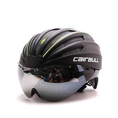 Unisexe casque de vélo intégral 28aérations Vélo Route Cyclisme Medium: 54–60cm PC/EPS Blanc/vert/rouge/bleu
