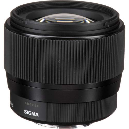 Sigma 56mm f/1.4 DC DN Contemporary Lens for Micro Four Thirds with UV Filter
