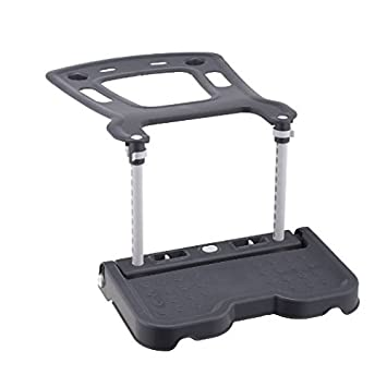 Qindn Child Car Seat Footrest And Booster Gray