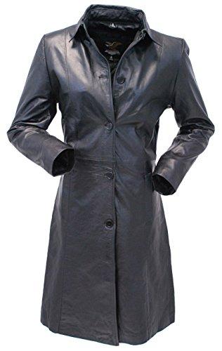 Leather Lamb Coat - 8