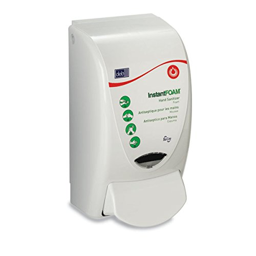 InstantFOAM Manual Dispenser 5.188''W x 4.625''D x 9.188''H 1L