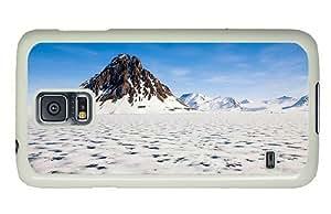 Hipster designer Samsung S5 Case Arctic Landscape PC White for Samsung S5