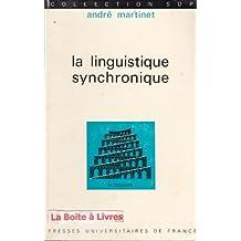 La linguistique synchronique