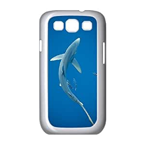 WJHSSB Phone Case Deep Sea Shark Hard Back Case Cover For Samsung Galaxy S3 I9300