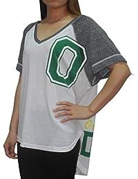 Womens OREGON DUCKS: Athletic Loose Fit V-Neck T Shirt