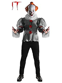 DISBACANAL Disfraz Payaso It Pennywise Deluxe - Único, M ...