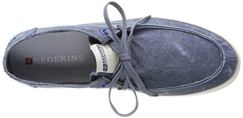Clearblue Barbel - Zapatos Hombre Bleu (Jean)