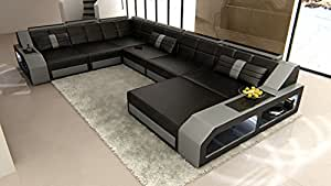 Design Sectional Sofa MATERA with LED Lights