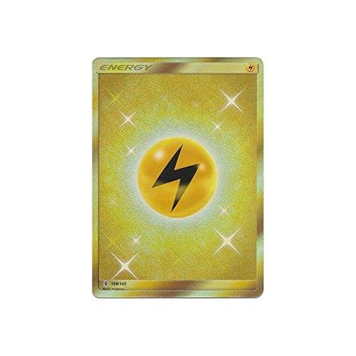 Pokemon Lightning Energy - 168/145 - Secret Rare - Sun & Moon: Guardians Rising (Lightning Energy Pokemon Card)