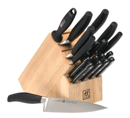 Henckels Five Star 18-Piece High Carbon Stainless Steel Knife Set with Block (Five Star Range compare prices)