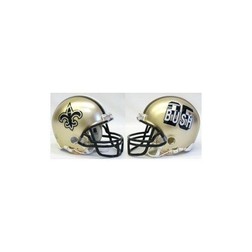 Amazon.com   Riddell Reggie Bush New Orleans Saints Replica Mini Football  Helmet   Sports   Outdoors 4026e83a9