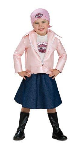 Biker Babe Costume (Toddler Harley Davidson Lil Biker)