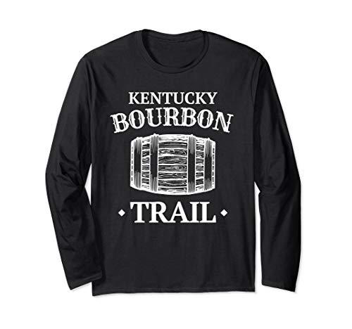 Long Sleeve KY Bourbon Trail Shirt Kentucky Whiskey T-Shirt