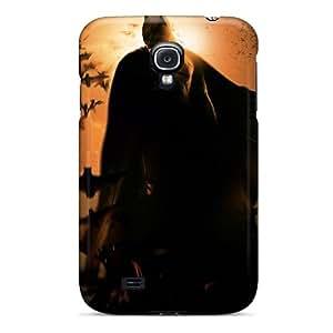 Melivera Premium Protective Hard Case For Galaxy S4- Nice Design - Batman Begins Movie