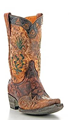 Old Gringo Cactus Pee Wee Mens Boots - M412-5 - 9.5 - D