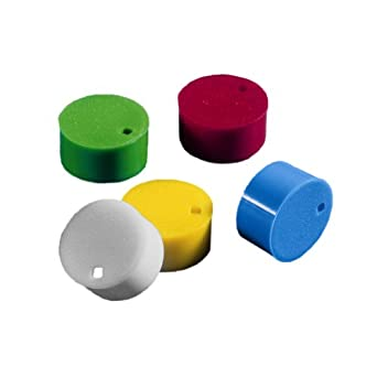 Corning Polypropylene Cryogenic Vial Cap Insert, Assorted Colors (Case of 500)