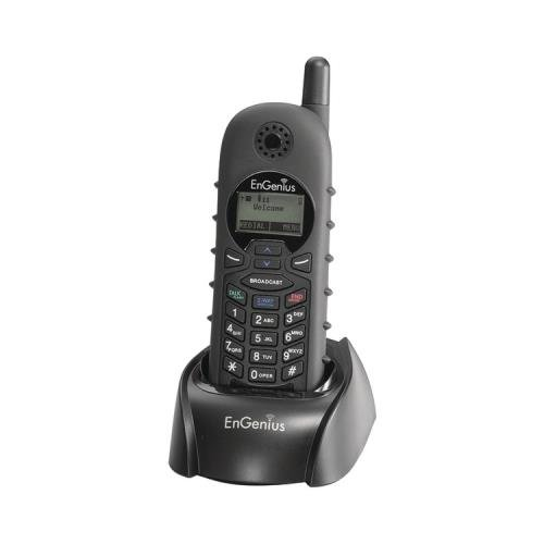 EnGenius DURAFON 1X-HC Long Range Industrial Cordless Phone Handset, Designed to Work With the EnGenius DuraFon 1X System, Functions as a Cordless Phone & Two-Way Radio, Compatible With DuraWalkie 1X