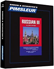Pimsleur Russian Level 3 CD: Learn to Speak and Understand Russian with Pimsleur Language Programs (Volume 3)