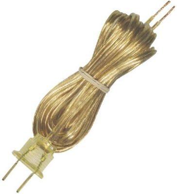 (Westinghouse Lighting 7010500 8 ft. Gold Light Fixture Cord Set)