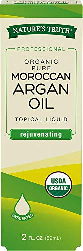 Nature's Truth Organic Rejuvinating Moroccan Argan Oil Serum, 2 Fluid Ounce