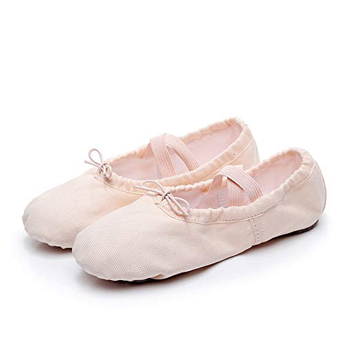Chat Femmes Size En Chaussures Ruiyue Ballet Pour 33 Cuir Yoga Griffe Fille 6 Toile color Eu Antidérapant Danse Bas De q0zFnTz6x