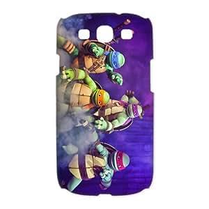Custom Teenage Mutant Ninja Turtles Hard Back Cover Case for Samsung Galaxy S3(3D) OE-1106