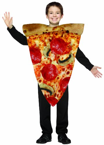 Rasta Imposta Pizza Slice Childrens Costume, 7-10, Multicolor -