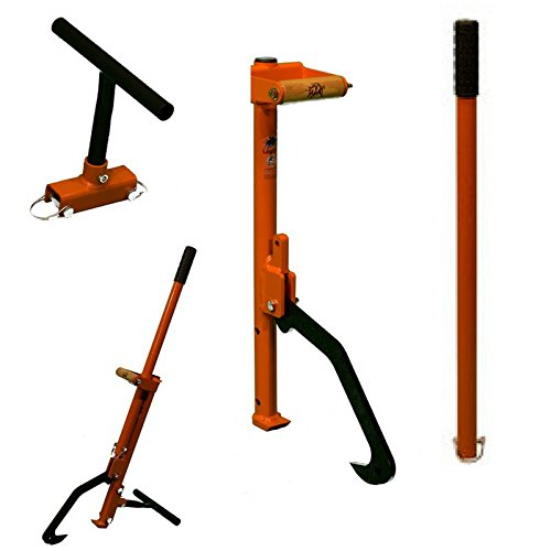 LogOX 3-in-1 Forestry MultiTool- Log Hauler, Cant Hook, And Timberjack - ALL IN ONE Back Saving ()