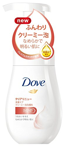 Japan Personal Care - Dove clear Renew creamy foam cleanser 160ml *AF27*
