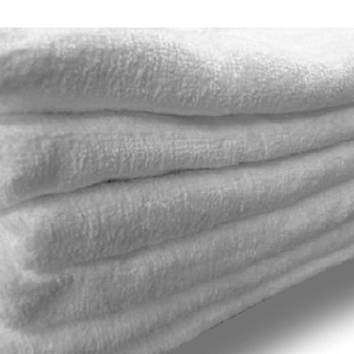"Custom & Luxurious {30"" x 60"" Inch} 6 Bulk Pack of Large & Thick Soft Summer Beach & Bath Towels Made of Quick-Dry Cotton w/ Basic Standard Spa Solid Colored Cabana Hotel Style [White]"