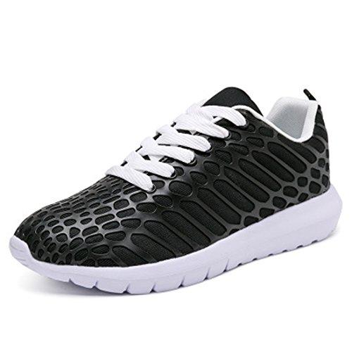 Fashion Wwtt Scarpe Mesh Black da Scarpe Corsa da Uomo Walking Scarpe Traspiranti Casual Amanti Donna Degli da da Ginnastica Sneakers CPwrdCq