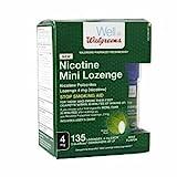 Cheap Walgreens Nicotine 4MG Mint Mini-Lozenges, 135 ea