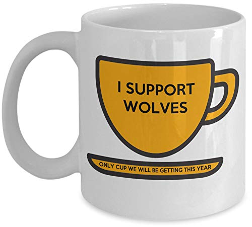 (shaniztoons Football Joke Wolves Wolverhampton Inspired Novelty Gift)