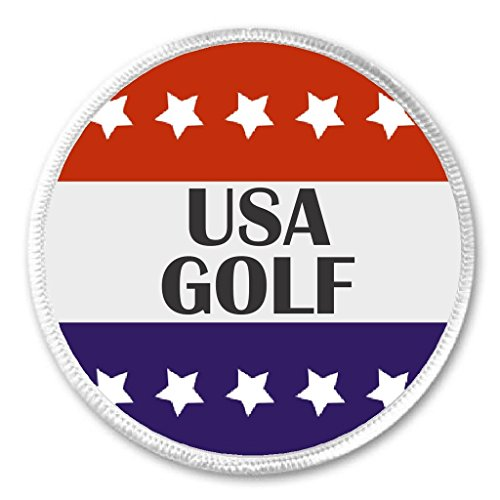 USA Golf Red White Blue Stars 3